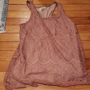 Matrices Lace tank M new